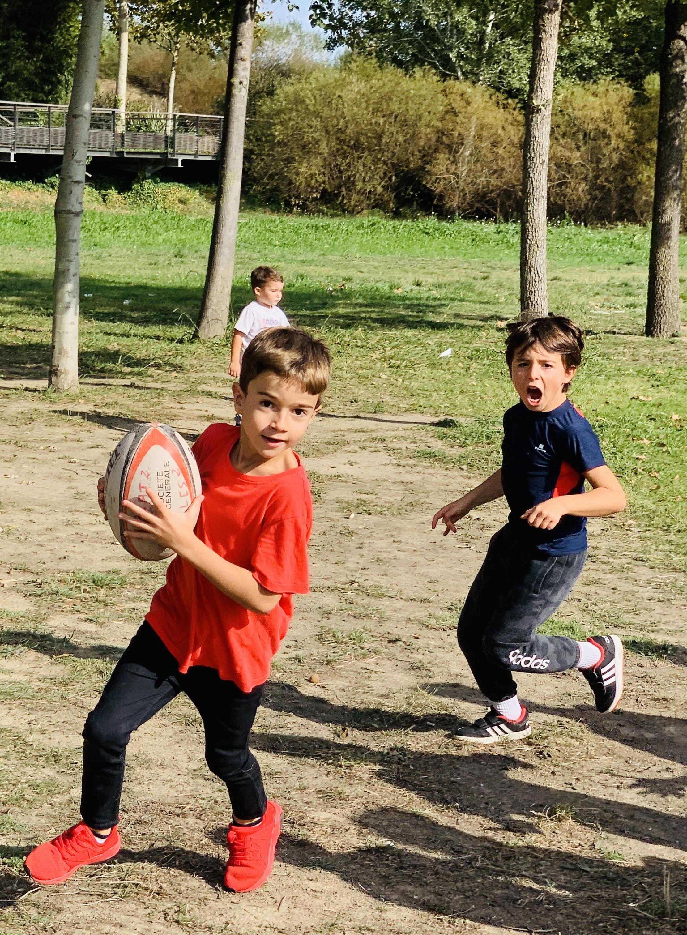 Setmana del rugby a l'Escola.